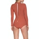 Rip Curl G Bomb Long Sleeve Back Zip UV Surf Womens Swimsuit