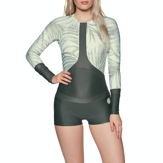 Rip Curl Long Sleeve Boyleg UV Surf Ladies Rash Vest