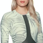 Rip Curl Long Sleeve Boyleg UV Surf Ladies Rash Vest