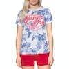 T-Shirt à Manche Courte Femme Superdry New Original Hibiscus Entry - Optic Slub
