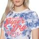 T-Shirt à Manche Courte Femme Superdry New Original Hibiscus Entry
