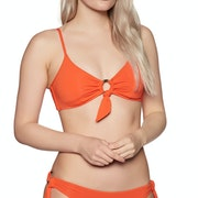 Seafolly Active Ring Front Bralette Bikini Top