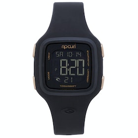 Rip Curl Candy 2 Digital Silicone Womens Watch - Black