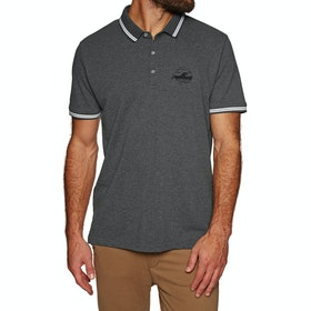 Protest Ted Polo Shirt - Dark Grey Melee