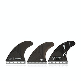 Futures HS1 Generation Series Thruster Fin - Black Marble