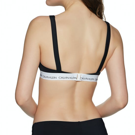 Calvin Klein High Apex Triangle Bikini Top