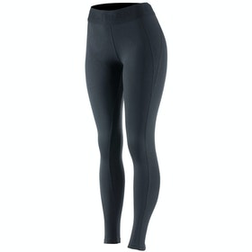 Horze Madison Silicone Full Seat Ladies Riding Tights - Black