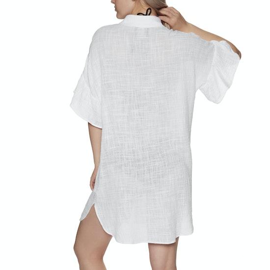 Seafolly Ruffled Sleeve Beach Dress