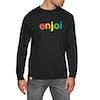 Enjoi Spectrum Long Sleeve T-Shirt - Black
