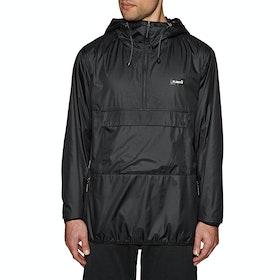 Planks Radorak Packable Anorak Windproof Jacket - Black
