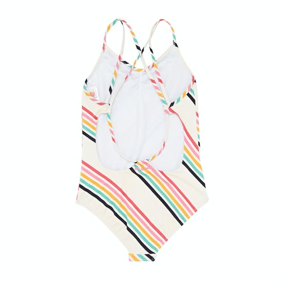 Billabong Seeing Rainbows One Piece Kids Swimsuit