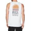 RVCA Daybreak Tank Vest - White