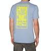 RVCA House Plant Short Sleeve T-Shirt - Dusty Blue