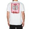 RVCA Monster Pack Short Sleeve T-Shirt - White