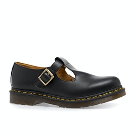Dr Martens Polley Smooth Womens Dress Shoes - Black