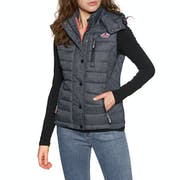 Superdry Fuji Slim Double Zip Body Warmer