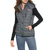 Superdry Fuji Slim Double Zip Body Warmer - Navy Scribble