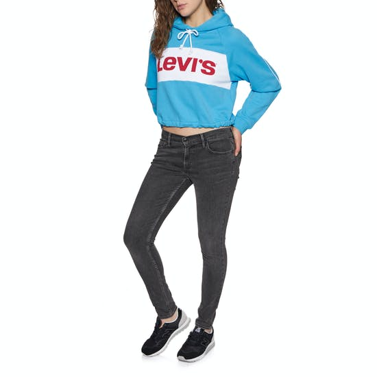 Levi's Colour Block Cinched Womens Pullover Hoody