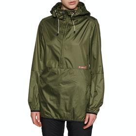 Coupe-vent Femme Planks Shredorak Packable Anorak - Army Green