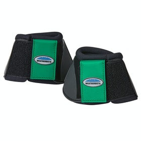 Weatherbeeta Impact Bell Over Reach Boots - Emerald