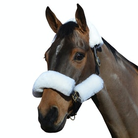 Weatherbeeta Merino Wool 4 Piece Set for Head Collar - White