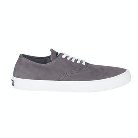 Sperry Captains Cvo Wash Slip On Trainers - Grey