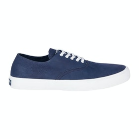 Sperry Captains Cvo Wash Slip On Trainers - Navy