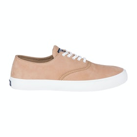 Sperry Captains Cvo Wash Slip On Trainers - Tan