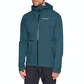 Peak Performance Eastlight Outdoor Waterproof Jacket - Blue Steel