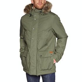 Volcom Lidward 5k Waterproof Jacket - Army Green Combo