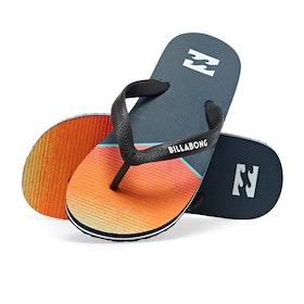 Billabong Tides Northpoint Kids Sandals - Orange