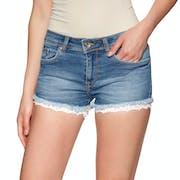 Shorts Femme Superdry Denim Lace Hot