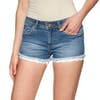 Shorts Femme Superdry Denim Lace Hot - Pool Blue Lace