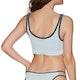 RVCA Linear Crop Bikini Top