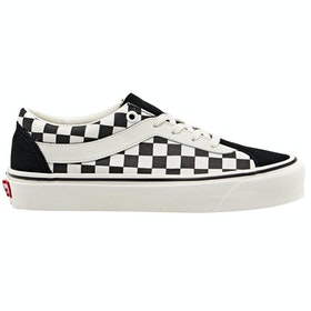 Vans Bold Ni Checkerboard Trainers - Black Marshamllow