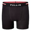 Pull-in Fashion Cotton Boxer Shorts - Black