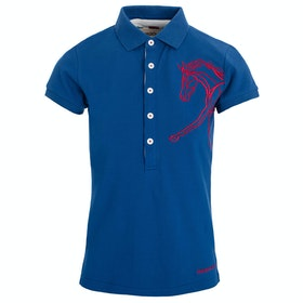 Horseware Flamboro Ladies Polo Shirt - Blue