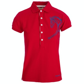Horseware Flamboro Ladies Polo Shirt - Red