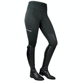 John Whitaker Pellon Ladies Riding Tights - Black