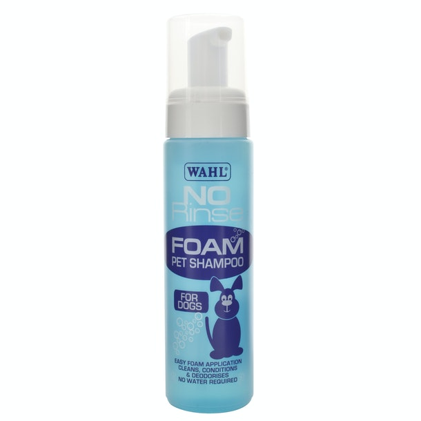 Wahl No Rinse Foam Pet Shampoo Dog Grooming