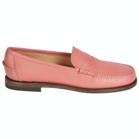 Sebago Classic Dan Pop Ladies Slip On Trainers - Chiffon
