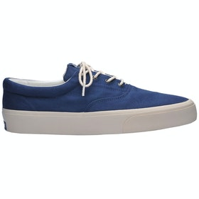 Sebago John Trainers - Blue Navy