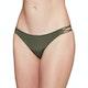 RVCA Solid Medium Loop Side Bikini Bottoms