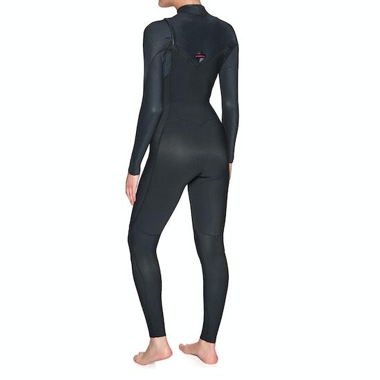 O'Neill Hyperfreak 3/2 Chest Zip Full Womens Wetsuit
