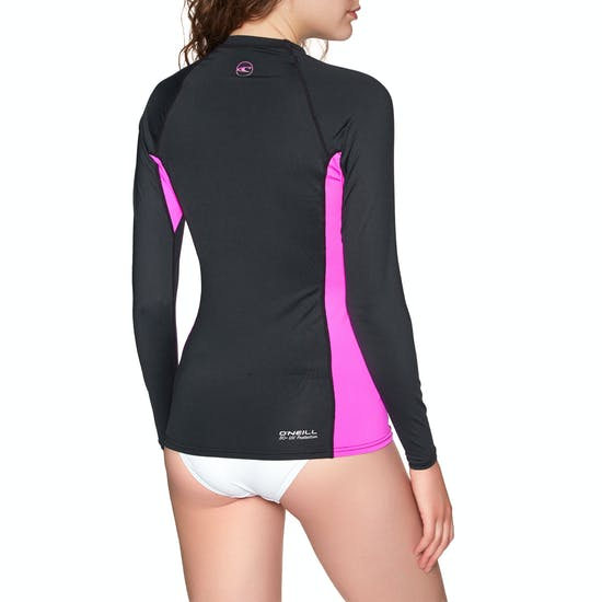 O Neill Premium Skins Long-Sleeve Rash Vest