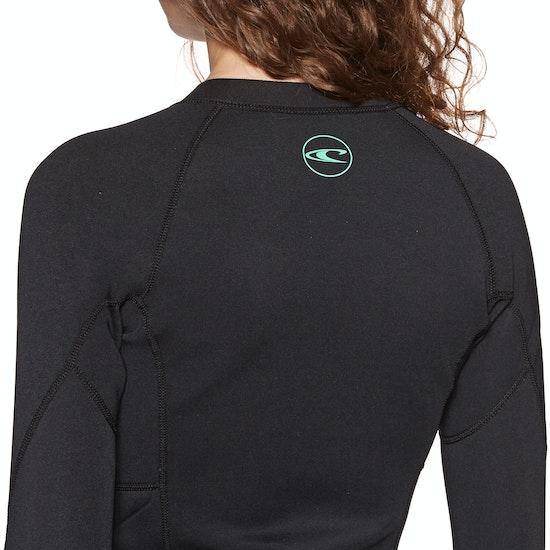 O'Neill Reactor II 1.5mm Front Zip Womens Wetsuit Jacket