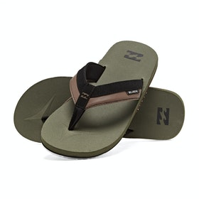 Billabong All Day Impact Sandals - Military