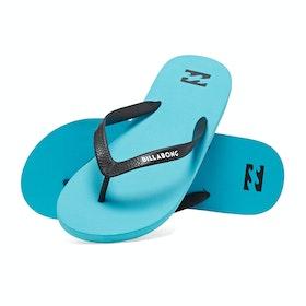 Billabong Tides Solid Sandals - Blue