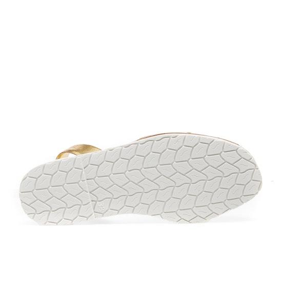 Solillas Puro Gold Womens Sandals
