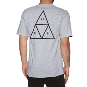 T-Shirt à Manche Courte Huf Essentials Triple Triangle - Grey Heather